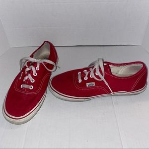 VANS Red Cherry Women's Shoes